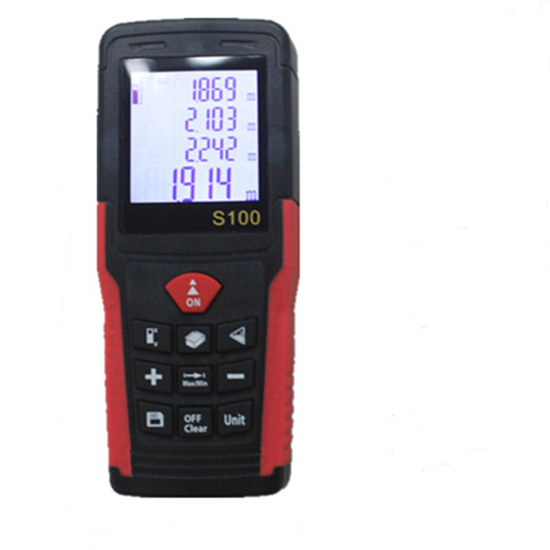 ФОТО S100 60M Handheld Laser Distance Meter Tester