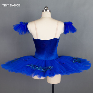 Image 2 - 7 Lagen Van Stijve Tule Royal Blue Klassieke Ballet Dans Kostuum Pannenkoek Tutu Jurk Professionele Ballet Tutu Kostuums BLL027