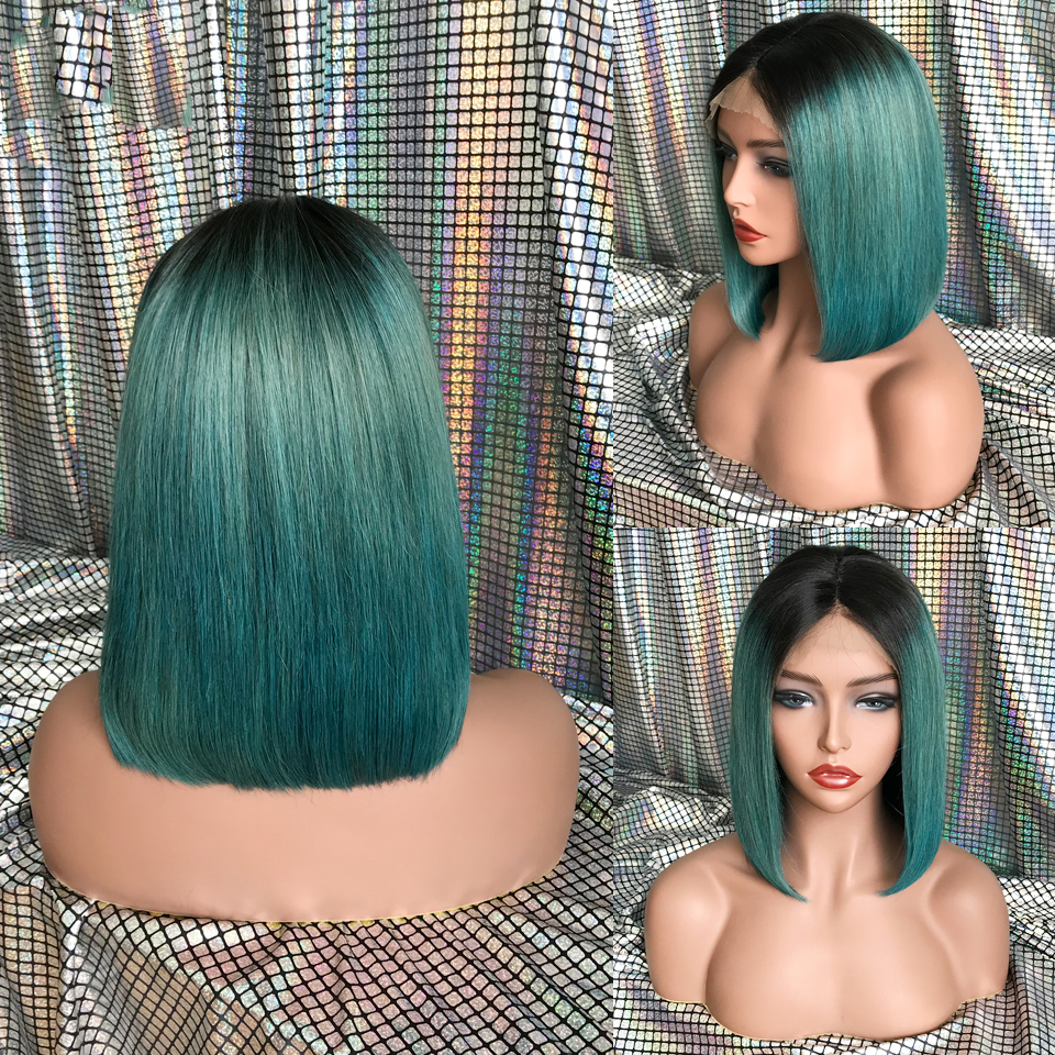 KL-Hair-Ombre-Color-Bob-Wigs-Pre-Plucked-Lace-Front-Human-Hair-Wigs-Straight-Brazilian-Remy (2)