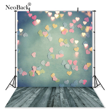 NeoBack Thin vinyl cloth Newborn Baby Photography Backdrop children kids backdrops Printing Studio Photo backgrounds B1856 vinyl cloth photography backdrops wooden newborn computer printing background for photo studio cm6741