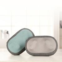 Original 3D Massage Pillow Wireless Temperature Powerful Pillow Electric Shoulder Back Massage Neck Massage Pillow Body Pillow