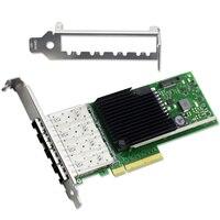 X710 DA4 4 Порты и разъёмы SFP + pci e x8 LC Ethernet 10 Гбит/с сервер обхода адаптер сетевой карты