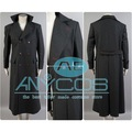 Sherlock Holmes Long Cape Men Winter Wool Coat Cosplay Costume Warm Windbreaker Free Shipping