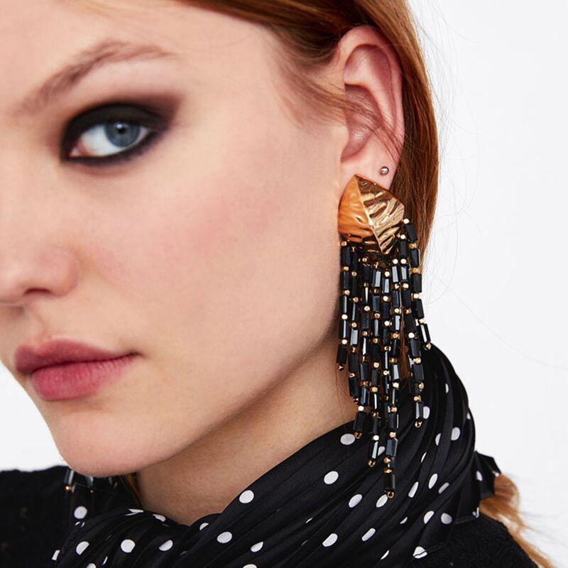 Best lady Multi Color Bright Beads Tassel