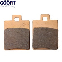 цена на GOOFIT Brake Pads One Pair for 50cc 70cc 90cc 110cc 125cc 150cc 200cc 250cc ATV Dirt Bike Four Wheeler Pit Bike Trail Bike -033