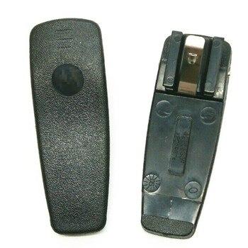 цена на XQF Belt Sturdy Clip For MOTOROLA Walkie Talkie GP3688/CP040/CP140 Radio Comunicador Black
