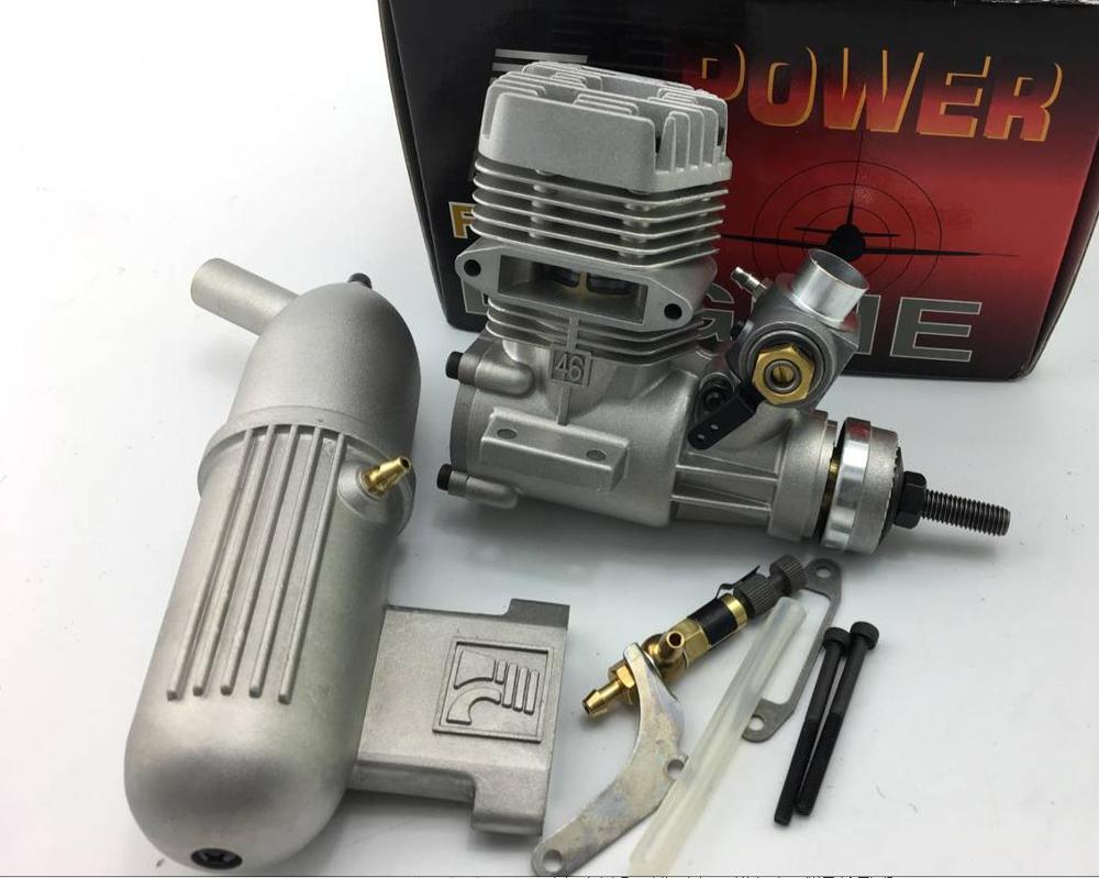 Imported FC46 46AII Nitro Engine 7.5CC (instead of ASP S46AII) for RC Model Airplane image