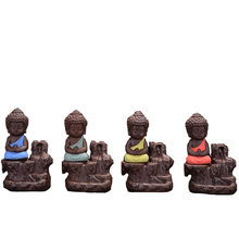 Cones Creative font b Home b font Decor The Little Monk Censer Yixing Backflow Incense Burner