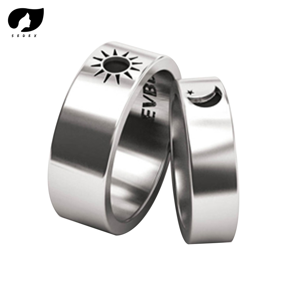 2019 Mother's Day Gift Sun and Moon Rings set Antique