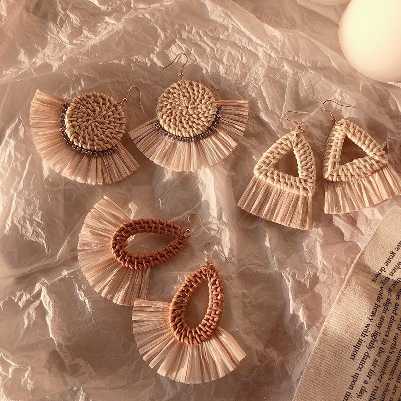 Cane earrings