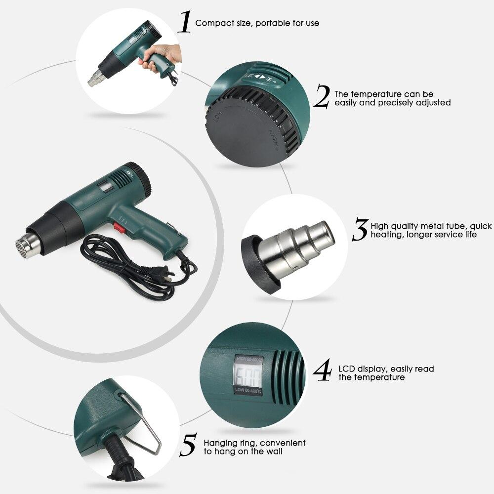 Industrial hair dryer - convenient power tool
