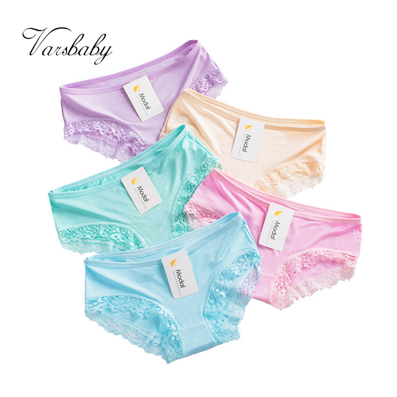Hot sale Modal Cotton with Lace Side best quality best Comfortable and breathable Underwear Women sexy