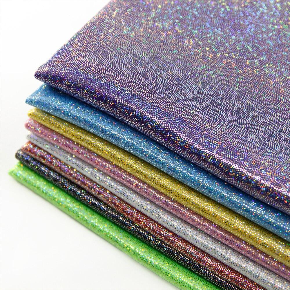 David accessoires 50*150 cm Laser 2 façons tricot extensible tissu pour Tissu Enfants Literie accueil textile pour Coudre tilda Poupée, c2023