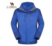 Camel outdoor male outdoor jacket twinset three-in Men 3f60004 outdoor jacket