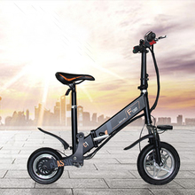 Folding Electric Bike Electric Bicycle Blectric New Type Of Mini Adult Motorcycles Lithium Battery Car Factory