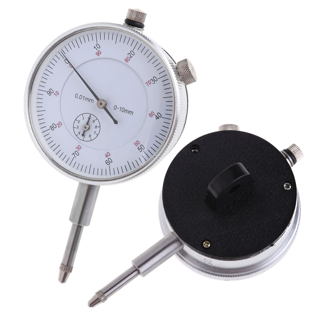 Précision 0.01mm cadran indicateur jauge 0-10mm mètre précis 0.01mm résolution indicateur jauge Mesure Instrument outil cadran jauge