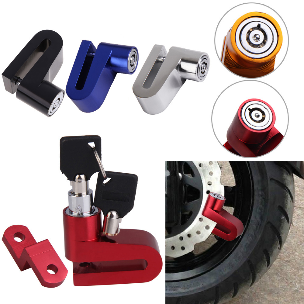 Anti-theft Bike Lock Secure Locks For Scooter Bike Bicycle Motorcycle Safety Disk Disc Brake Rotor For Outdoor Cycling Riding dekok square cake pan форма для выпечки
