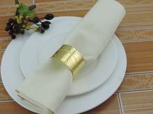 6PCS Chinese style European cuisine buckle napkin ring towel circle irregular six optional