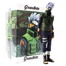 28cm Anime Naruto Shippuden Grandista Hatake Kakashi Banpresto Shinobi Relations PVC Action figurine Collection modèle jouet