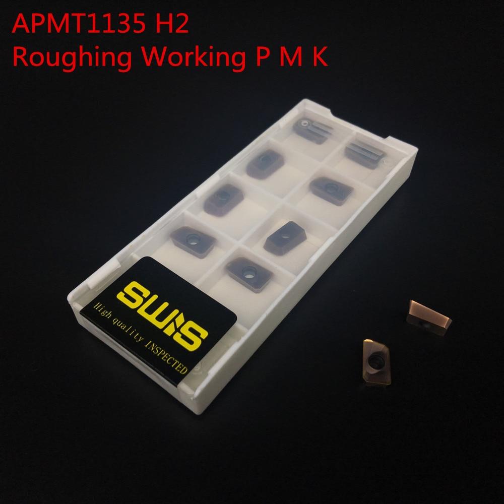 10db APMT1135 H2 + 1PCS 16mm marómaró tartó BAP300R C15-16-150L-2F - Szerszámgépek és tartozékok - Fénykép 2