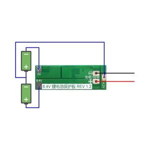 Image 5 - 2S 20A  7.4V 8.4V  18650 Lithium battery protection board/BMS board standard/balance