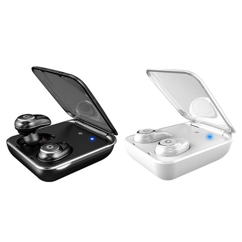 Bluetooth 5.0 écouteurs véritable sans fil écouteurs IPX7 étanche stéréo casque 2000 mAh batterie externe téléphone Charge pour iPhone 6 s 7 Sony