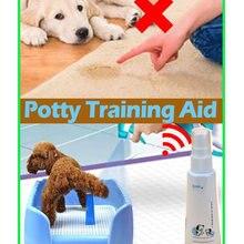 Лоток для домашних животных помощь обучение жидкий спрей для собак щенков кошек Горячая
