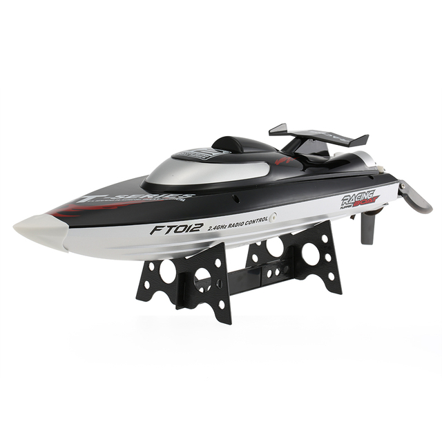 Original FT012 2.4G Brushless 45km/h High Speed RC Racing Boat with Water Cooling Self-righting System RC Boat Ship Toys