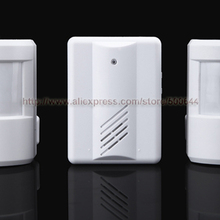 2 to 1 400 Feet PIR Infrared Sensor Wireless Doorbell Remote