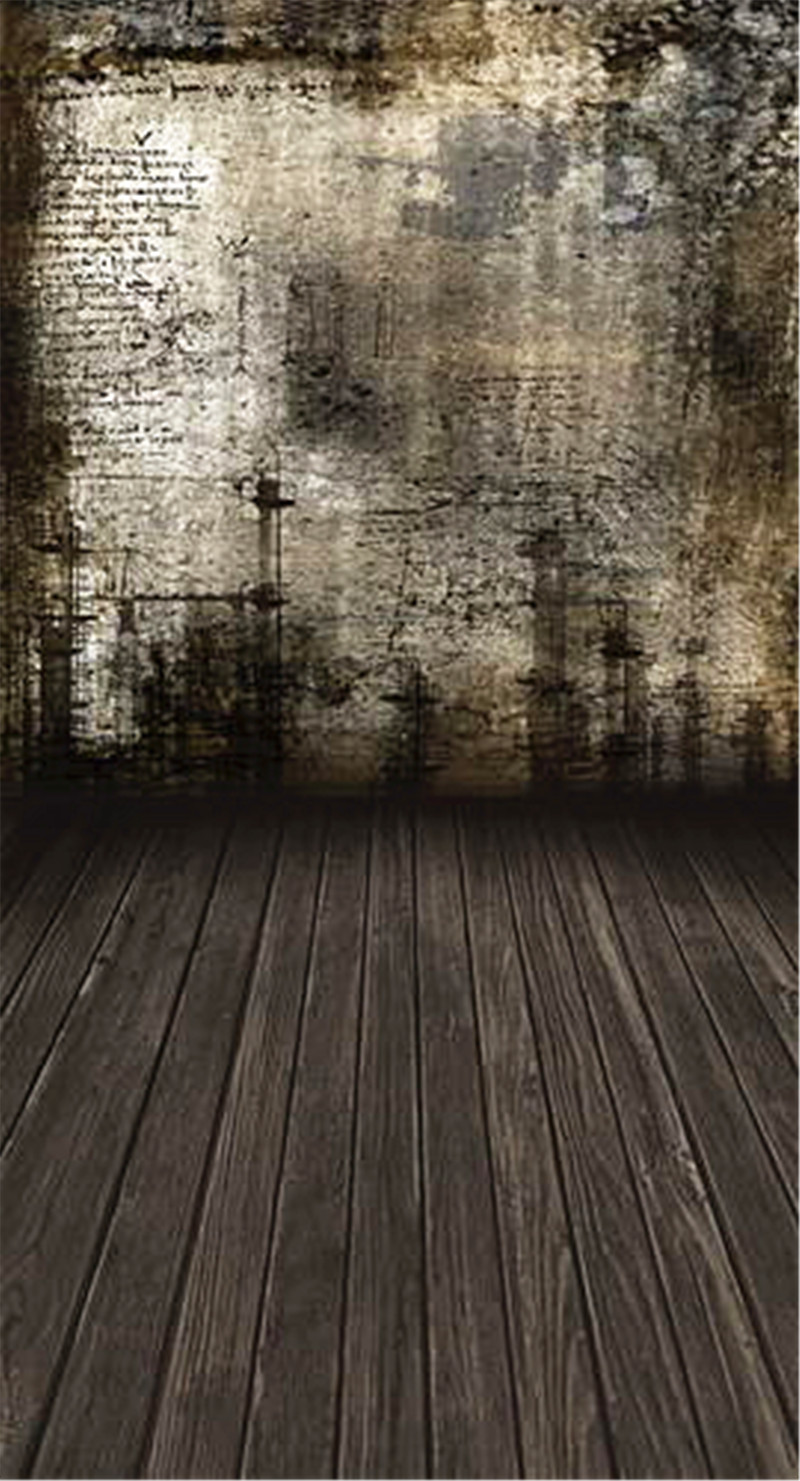 Dark Wall Photography Backdrops Indoor Wood Floor Photo Background Studio Props Custom Vintage Backdrop fotografia щипцы для укладки волос braun st 510 satin hair 5