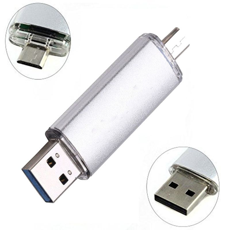 High Speed USB 3.0 Pen Drive 128GB USB Flash Drive 64GB 32GB 16GB 8GB 256GB OTG Pendrive Cle USB Stick For SmartPhone/Tablet/PC