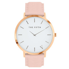 2018 Top Brand THE FIFTH Casual Mens Watches lady dress watch women Casual Leather quartz-watch Analog wristwatch Gifts Watches