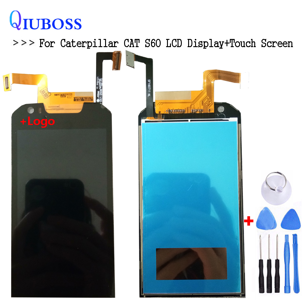 For Caterpillar Cat S60 LCD Display Touch Screen Replacement Digitizer Assembly For Cat S60 S 60 Mobile PhoneFor Caterpillar Cat S60 LCD Display Touch Screen Replacement Digitizer Assembly For Cat S60 S 60 Mobile Phone