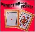 Prediction Made Visible - Queen to Ace - card magic,illusions,card tricks stage magic,mental free shipping