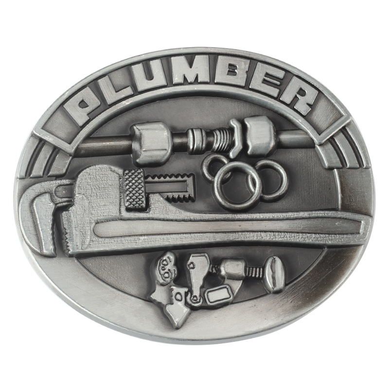 The Plumber Professional Belt Buckle