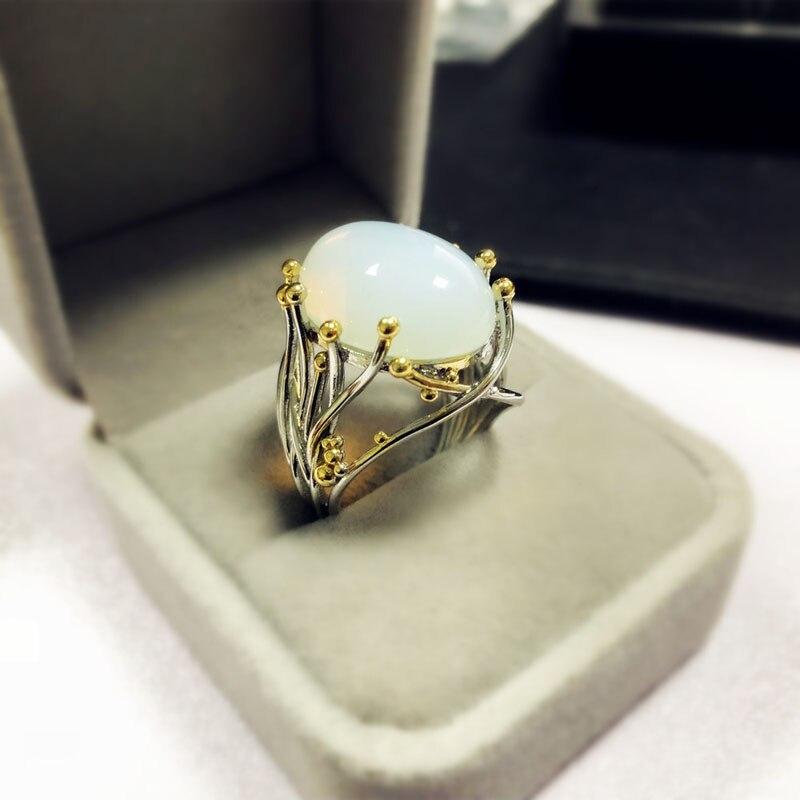 Vintage Jewelry Rings Big Healing Crystal Rings For Women ...