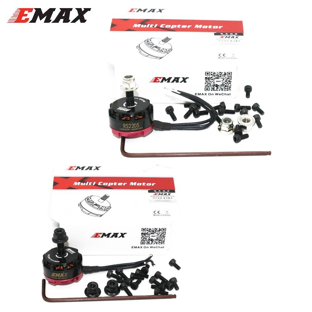 Emax RS2205 2300KV/2600KV Motor sin escobillas para QAV200 210 250 FPV Racing QAV R180 220 260 (incluye la caja de venta al por menor)