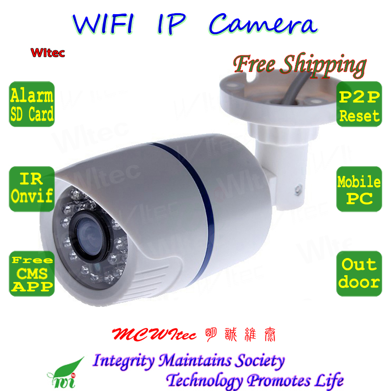 SD Card Built in WIFI  Camera 960P 720P CCTV Monitor Bullet ONVIF White Night image P2P IP Cam IR Cut Reset Motion alarm Network ssk scrm 060 multi in one usb 2 0 card reader for sd ms micro sd tf white