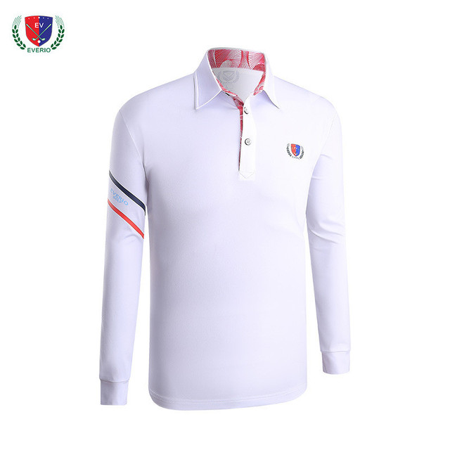 3e8b559050 Los hombres Golf Polo camisa de manga larga de otoño e invierno ropa de  Golf uniformes