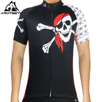 2017 Armteeh Men S World Pirate Flag Cycling Jersey Racing Bicycle Sportwear Ropa Ciclismo Skull Cross