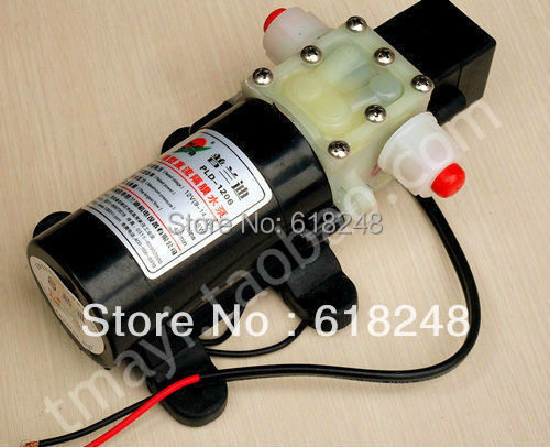 Car Wash Cleaning  Machine 12V Mini Portable High Pressure Water Pump Washer 25W PLD1205