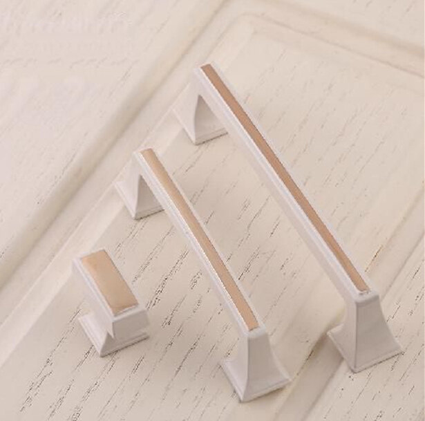 Chic Drawer knobs Lvory White Drawer Pull Handle cabinet Handle Kitchen Door knobs pulls Decorative Furniture Hardware 1 pair 4 inch stainless steel door hinges wood doors cabinet drawer box interior hinge furniture hardware accessories m25