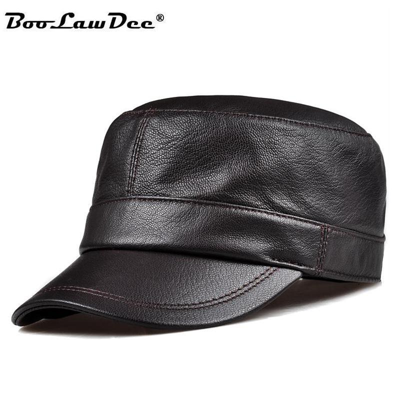buy leather brown hat and get free shipping on aliexpress com