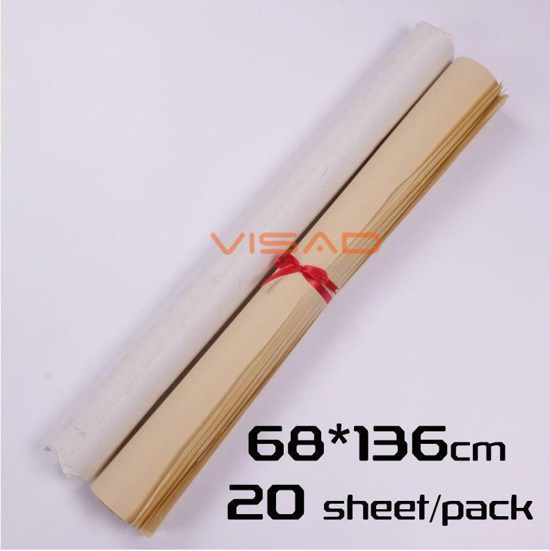 Chinese Xuan Paper.68*136 cm Creative painting ink painting and Chinese calligraphy, 20 sheet/pack rice paper sakura chinese painting paper calligraphy practice paper students special calligraphy and painting practice paper 100pcs lot