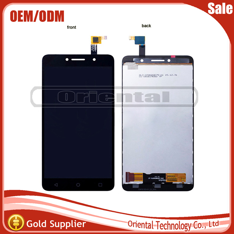 6 Black For Alcatel One Touch Pixi 4 OT-8050D OT8050 8050D 8050 LCD DIsplay + Touch Screen Digitizer free shipping
