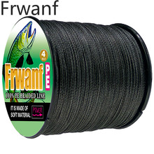spinning fishing line braided cord never faded black 500m 1000M 4 Strands  6 8 10 20 30 50 60 80 100LBS thread
