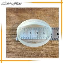 2шт 50 мм Диаметр Оптическое стекло фокусное расстояние оптика двойные вогнутые линзы фокус-90 м для физических оптических экспериментов