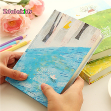 """A5 Hardcover Cute Diary Book Color Pages Notebook School Office Stationery """"Forest Life"""" Journal Planner Agenda Notepad"""