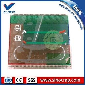 PC200-6 200-6 Single Time Monitor LCD Panel for Komatsu Excavator