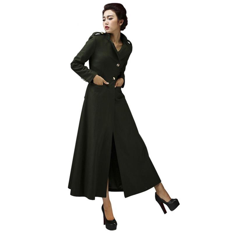 Aliexpress.com : Buy 2016 New Autumn Winter Long Woolen Coats